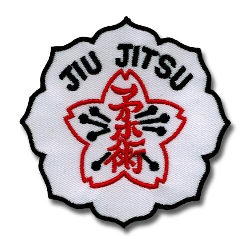 Embroidery patch JIU JITSU...