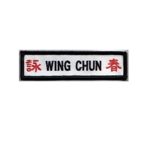 Embroidery patch WING CHUN...
