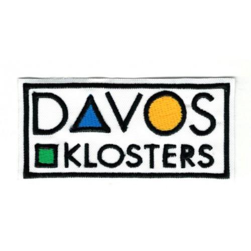 Parche bordado DAVOS...