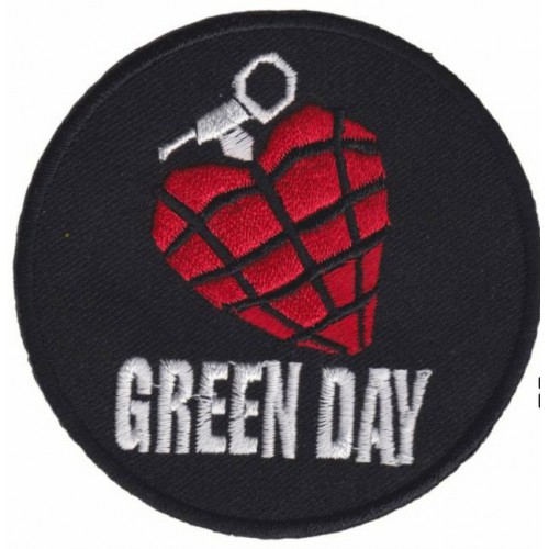 Embroidery  patch GREEN DAY...