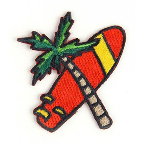 Embroidery patch PALM TREE...