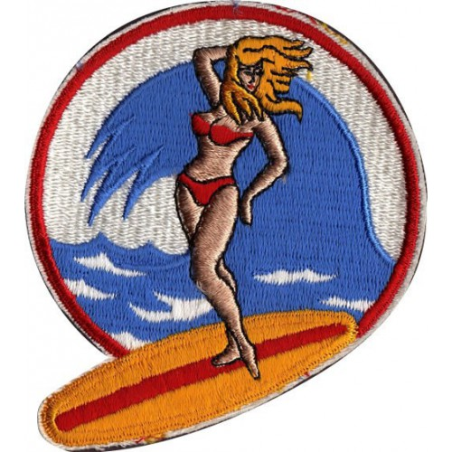 Embroidery  patch GIRL...