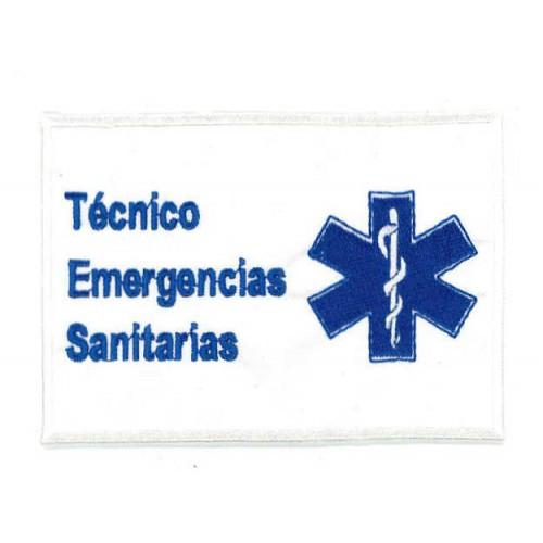 Embroidery patch TÉCNICO...