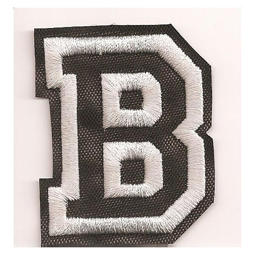 Patch embroidery LETTER B  5cm high