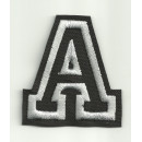 PATCHES EMBROIDERED LETTERS