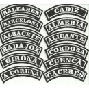 COMMUNITIES AND SPANISH PROVINCES PATCHES